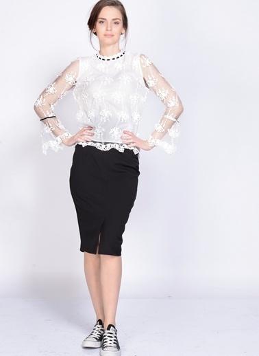 Dahliaa Bluz Beyaz